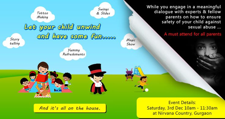 "Does your child KNOW when to say ""NO""? 