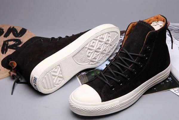 7708522a8dab Converse x Clot x Undefeated Black High Tops Suede CT All Star Bow Back  Shoes  converse  shoes  curvypetitefashion