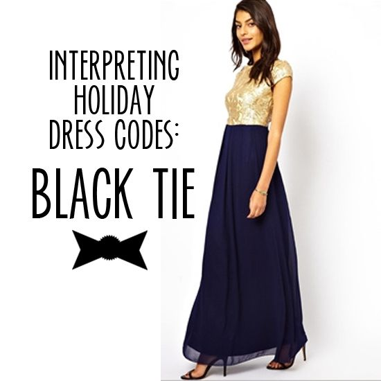 Interpreting Holiday Party Dress Codes: Black Tie (and 12 fabulous dresses at all price points appropriate for this dress code!)