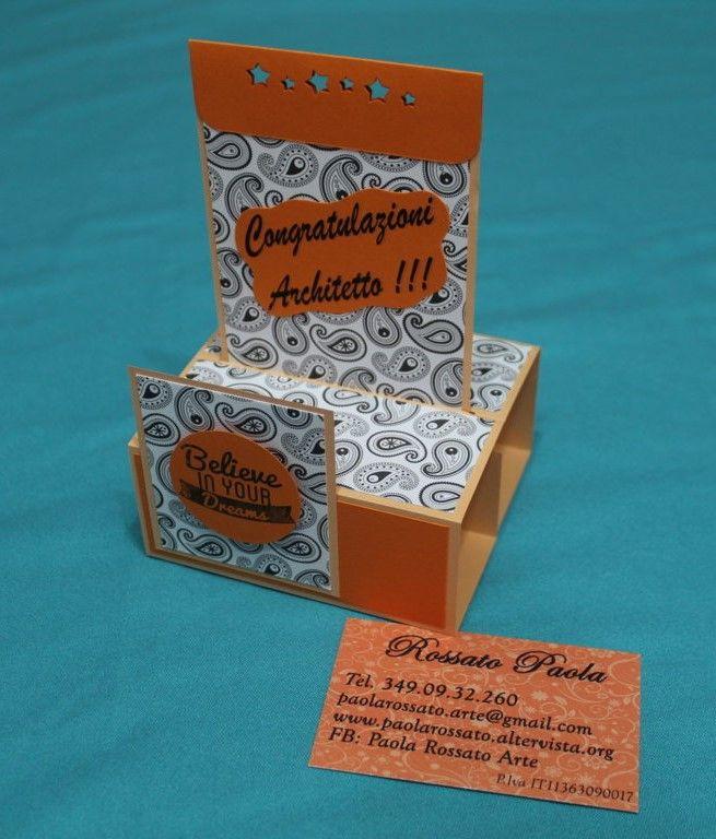 Due cards! Una card di congratulazioni con movimento 3d e una per il pensionamento con segnalibro incorporato. Idee regalo per tutte le età!