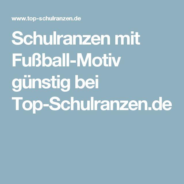 Schulranzen mit Fußball-Motiv günstig bei Top-Schulranzen.de
