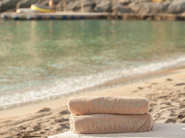 Cove private beach!