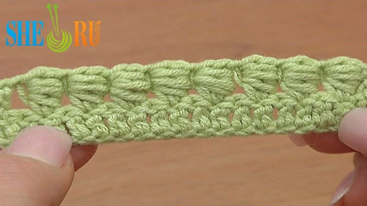 How to Crochet Bullion Block Stitch Tutorial 40 Part 1 of 7 One Way to Work Bullion Block Stitch http://sheruknitting.com/videos-about-knitting/crochet-for-beginners/item/221-crochet-bullion-block-stitch-for-beginners.html With this free crochet tutorial for beginners you will learn how to crochet a bullion block stitch. In this tutorial we show you the way to work a bullion block stitch through only one stitch on row below.