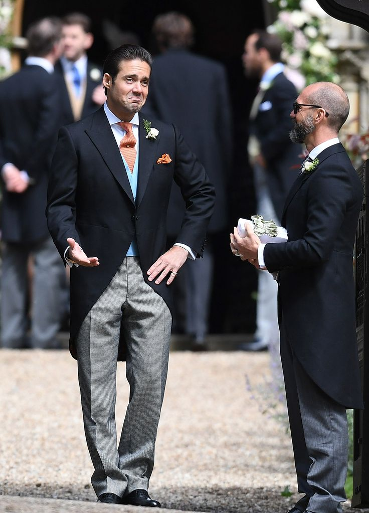 Pippa Middleton's Wedding in Photos - Spencer Matthews, brother of the groom from InStyle.com