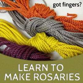 Make All-Twine Knotted Rosaries or Get a Free Rosary - Rosary Army