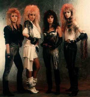 80s girl rock bands