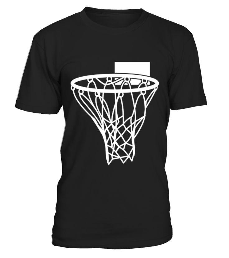 Basketball or Netball hoop net_130  Funny Basketball T-shirt, Best Basketball T-shirt