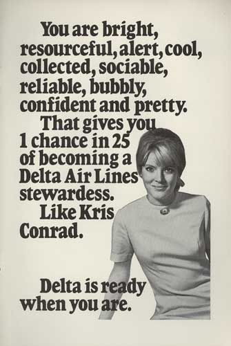 Love it! Obviously not useful travel gear but I'd love to collect old ads and posters from the Legacy Carriers :-)