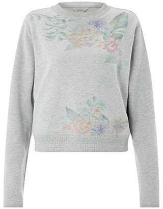 Get the athleisure look so right with our floral print sweatshirt from the Spirit of Accessorize collection. This cosy jersey design is crafted in a cotton b...