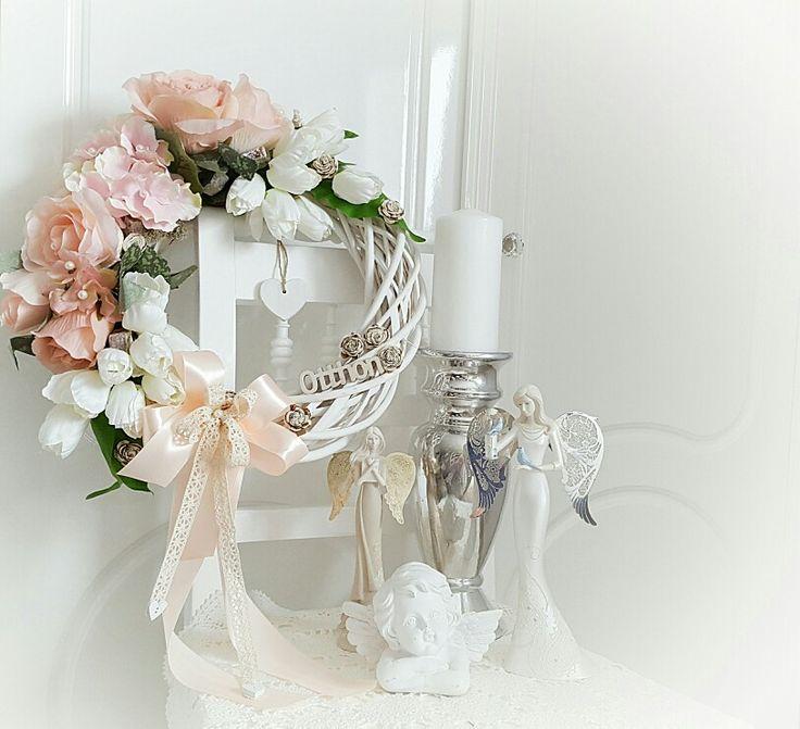 Otthon Feliratos ajtodisz vagy dekoracio♡ Home Wreath ♡ Barbi Világa facebook