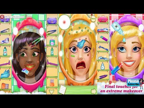 Hairy Face Salon Makeover  Videos games for Kids - Girls - Baby Android ...
