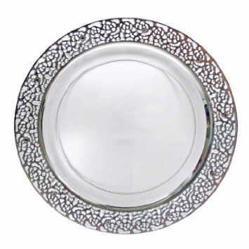 Plastic wedding plates is a great way to have an elegant wedding or party and save.  sc 1 st  Pinterest & 9 best Hiyeti images on Pinterest | Islamic Dinner plates and ...