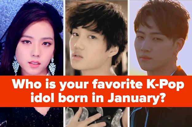 These K Pop Idols Were All Born In The Same Month Who S Your Favorite In 2020 Pop Idol Kpop Kpop Idol