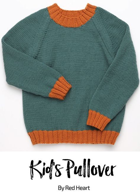 Kid's Graphic Pullover free knit pattern in Cleckheaton ...