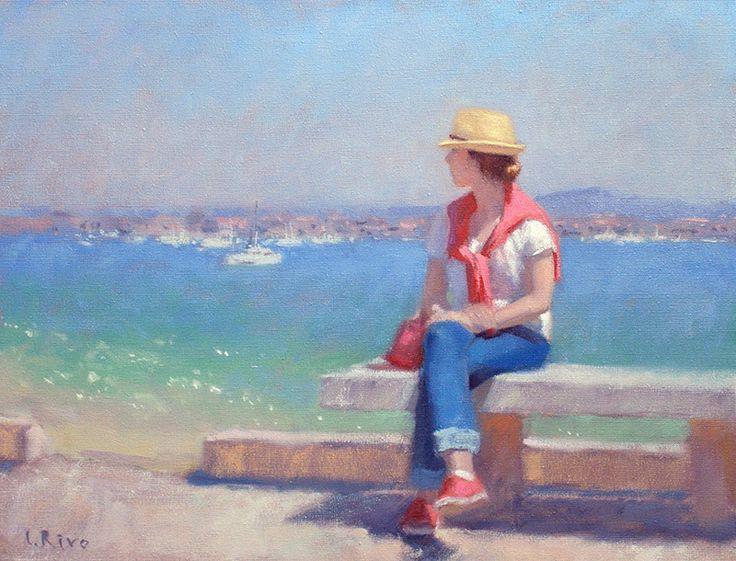 Lena Rivo's Painting Blog: Blue Bay | Lena Rivo´s ...