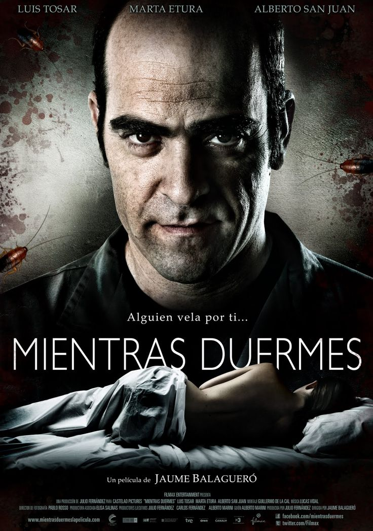"""Mientras duermes"" (2011) - a Spanish horror thriller film directed by Jaume Balagueró and written by Alberto Marini."