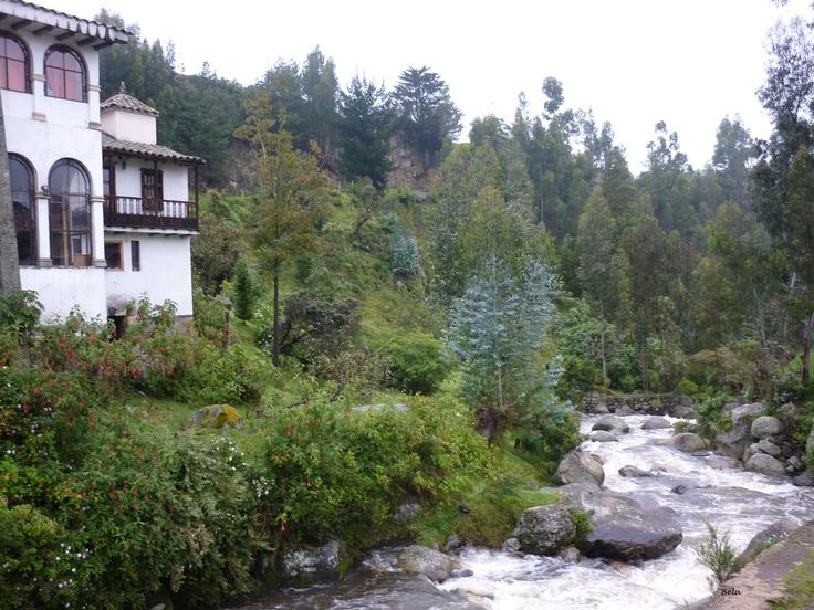 Mongui (desde el Puente Calicanto) - Boyacá