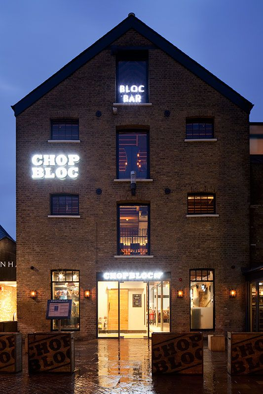 Chop Bloc, Chelmsford makes use of Photec Lighting LED Products