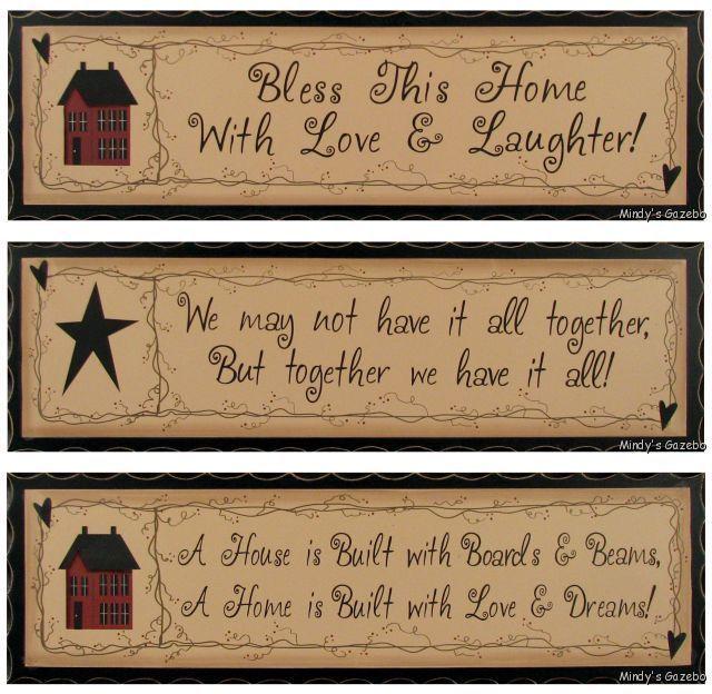 Primitive Antique SIGN Rustic Country Home Decor Plaque