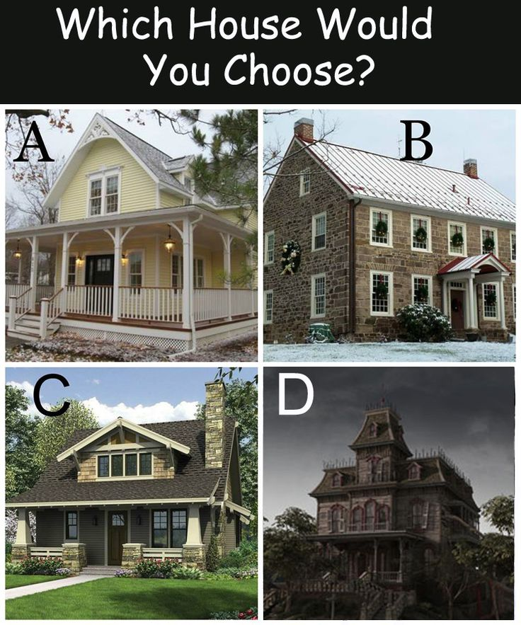 Which house would you choose? Halloweenaholic