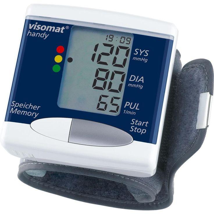 VISOMAT handy Handgelenk Blutdruckmessgerät:   Packungsinhalt: 1 St PZN: 06414470 Hersteller: Uebe Medical GmbH Preis: 25,54 EUR inkl. 19…