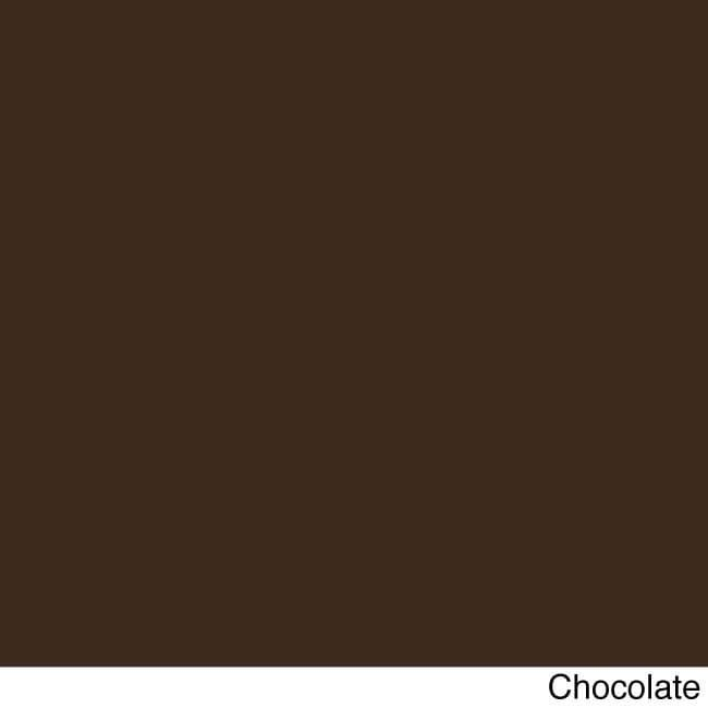 Blazing Needles 42-inch Solid Twill Indoor Bench Cushion (Chocolate), Brown