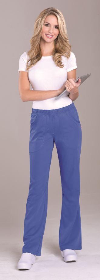 "NEW! URBANE ULTIMATE: 9306 ""Alexis"" Cargo Pant in PERI #urbane #scrubs #medical #fashion #uniforms #doctor #hospital #uniforms #nurse #nursing #rn #dental #hygienist #vet #tech #summer #periwinkle #new #collection #ultimate"