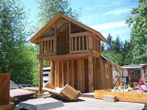 Rough Cut Sheds...Custom cedar sheds,cabins,playhouses, and more from Rough Cut Sheds