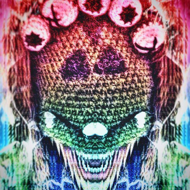 Mask + Photo Manipulation  #mask #beanie #picsart #photomanipulation #AlienDude #crackedup #scream #insane
