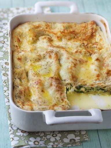 Lasagnes à la ricotta et aux épinards : Recette de Lasagnes à la ricotta et aux épinards - Marmiton