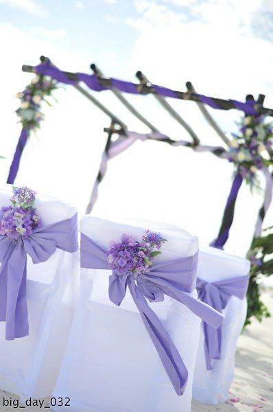 Ceremony Chair Decor ... Wedding ideas for brides, grooms, parents & planners ... https://itunes.apple.com/us/app/the-gold-wedding-planner/id498112599?ls=1=8 … plus how to organise an entire wedding, without overspending ♥ The Gold Wedding Planner iPhone App ♥