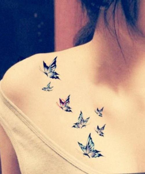 Butterfly Tattoo Designs For Women | Tattoo Ideas Gallery & Designs ...