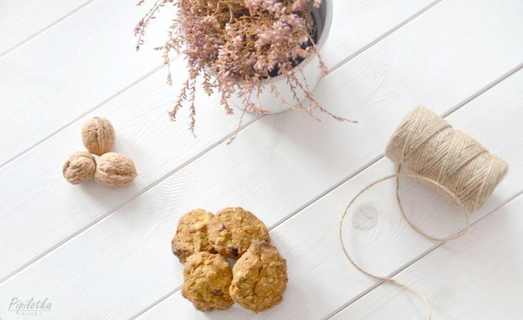 Najlepsze ciasteczka dyniowe | Pipilotka - blog o zdrowym stylu życia