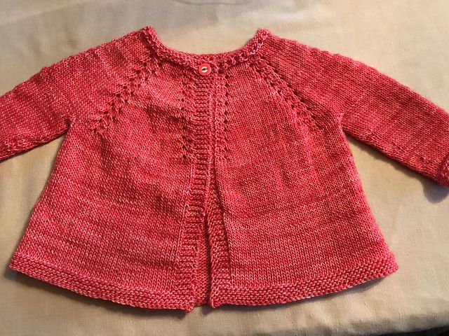 Ravelry: barbhark59's Baby O'Neil sweater