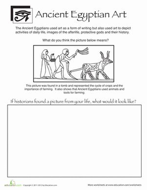 ancient egypt writing and language lesson