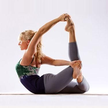 lexi yoga on  bow pose yoga cool yoga poses yoga poses