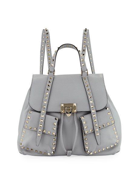 1f146c7ecdf Valentino Rockstud Double-Pocket Backpack | Backpacks | Backpacks ...