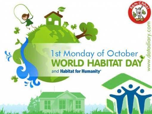 """Ogni primo lunedì di ottobre si celebra la Giornata Mondiale dell'Habitat, un'occasione per riflettere sullo stato del nostro ambiente. Tema scelto dall'ONU per il 2012: """"Città in corso di trasformazione, opportunità di costruzione."""""""