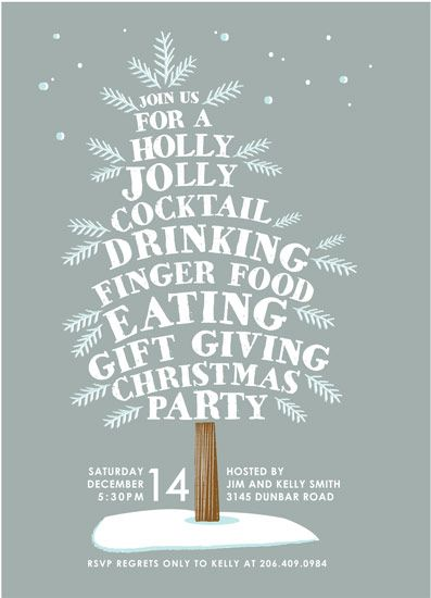 holly jolly tree by Karidy Walker - Great idea for a holiday ad!  http://www.minted.com/design-rating/91144?filter=all&sort=random