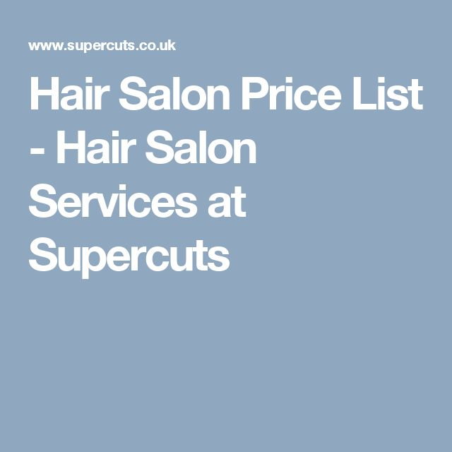 Best 25+ Hair salon prices ideas on Pinterest Beauty price list - salon price list
