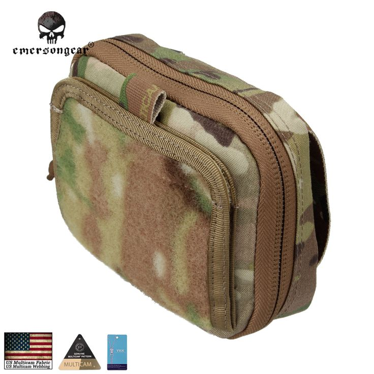 Compare Prices Emersongear Admin Multi Purpose Map Bag Emerson Tactical Pouch Military Army Molle Combat Gear #Army #Gear
