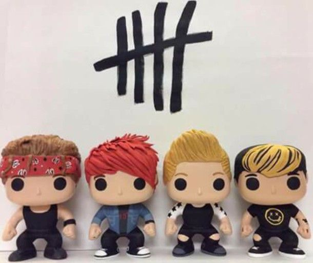 home accessory funko pop deco figures toy toys cute dolls 5 seconds of summer home decor decoration 5sos merch