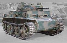 """Panzer II Ausf. L """"Luchs"""" in the Musée des Blindés, Saumur."""