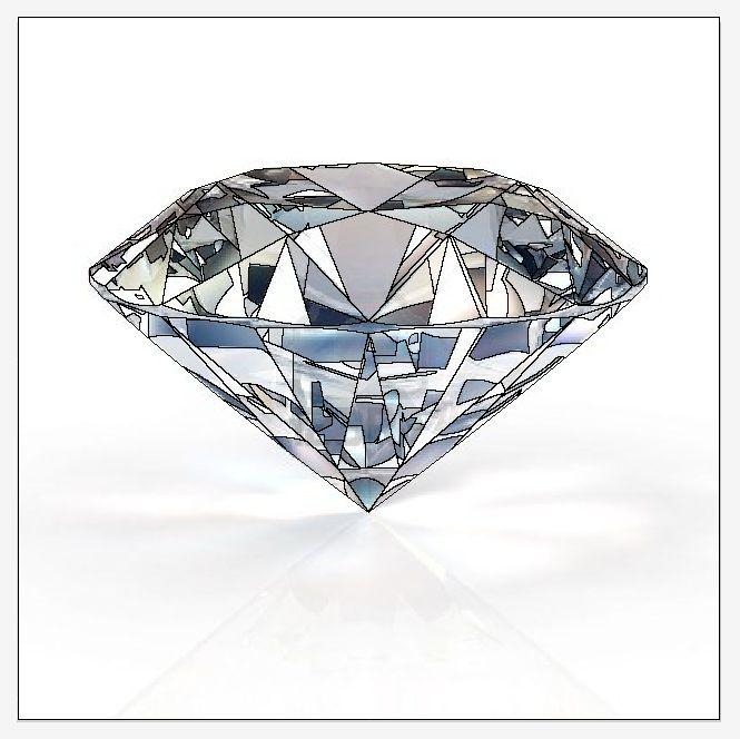 Create a Photorealistic Diamond in Adobe Illustrator ...