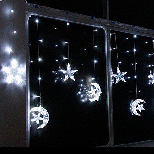 Simple Nene Led Leuchten Sterne Mond Weihnachten Sting Leuchten F r Innen Und Au en T r Verwenden