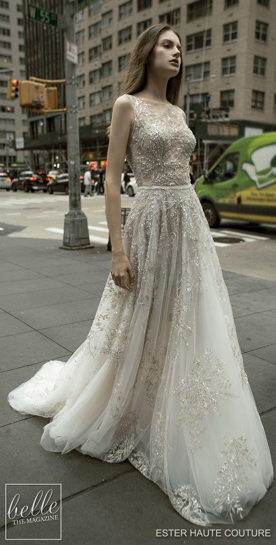 Ester Haute Couture Wedding Dresses 2019 Haute Couture Wedding Dress Wedding Dress Couture Wedding Dresses