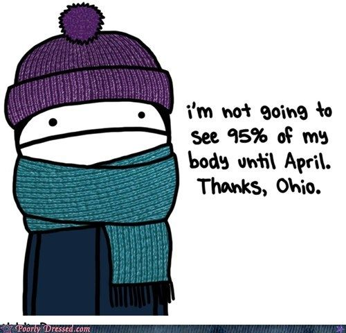 very cold weather memes | Thank you Winter, for the being the season with the most unflattering ...