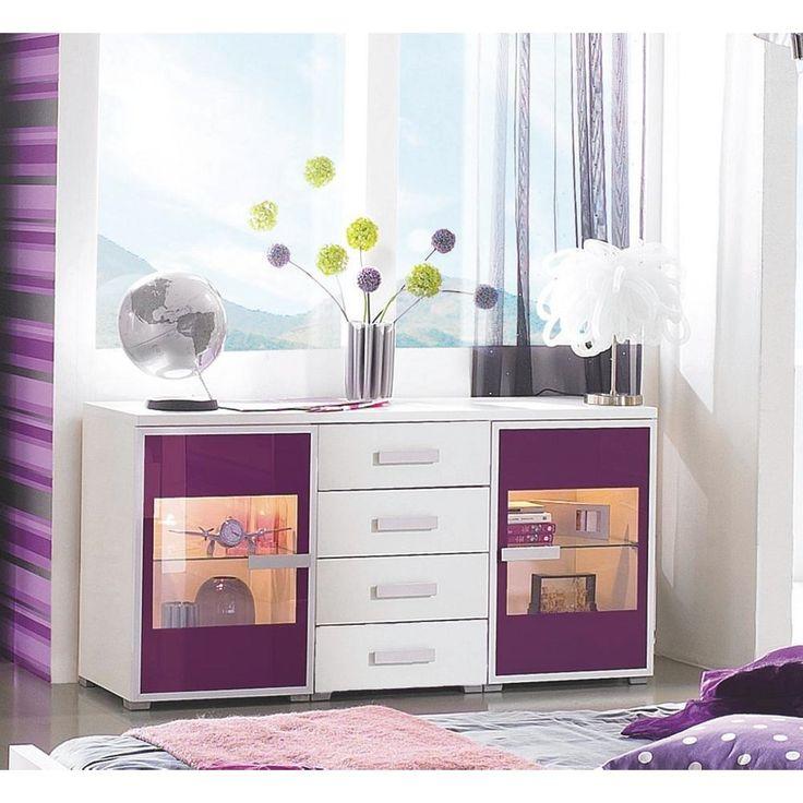 Die besten 25+ Lila kommode Ideen auf Pinterest Lila kindermöbel - wohnzimmer grau lila weiss