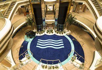 Interior Crucero Monarch de Pullmantur