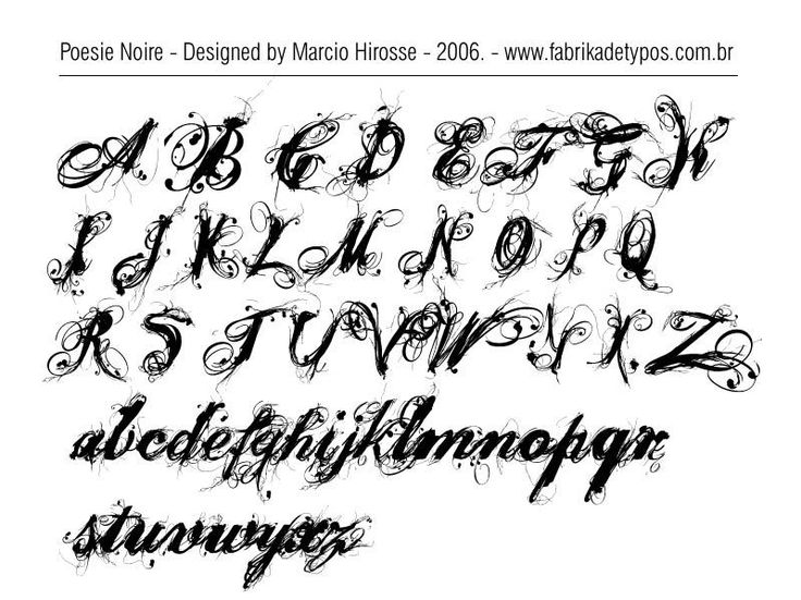 Alphabet calligraphy wallpapers hd